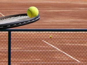 Balanc na tenisovej rakete